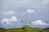 Haraldhaugen monument, Haugsund, Norway