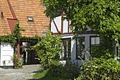 Henrik Rogge´s yard, Ystad, Skane, Sweden