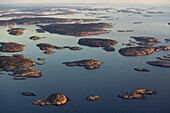 The north archipelago in Bohuslän, Sweden