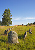 Graves from the Iron Ages., Skane, Sverige