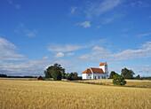 Church in agriculture landscape