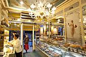 La Maison Stohrer on Rue Montorgueil is Paris' oldest bakery, Paris, France, Europe