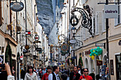 Getreidegasse, Old Town, Salzburg, Austria, Europe