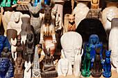 Replica statues, Souvenirs, Egypt, Africa