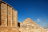 Step pyramid of Djoser in Saqqara, Egypt, Africa