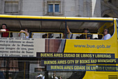 Sightseeing bus, Buenos Aires, Argentina, South America, America