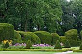 Ornamental garden, Clemenswerth castle, Sogel, Lower Saxony, Germany