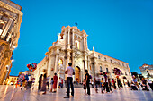 Cathedral, Cathedral square, Ortigia, Syracuse, Sicily, Italy