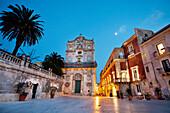 Cathedral square, Ortigia, Syracuse, Sicily, Italy