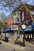Lexington Michigan tourist destination downtown area