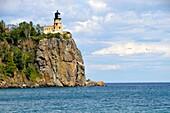 Split Rock Lighthouse State Park near Duluth Minnesota along Lake Superior Shore