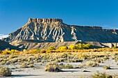 Fremont River valley Utah