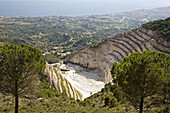 Stone quarry, Sierra de Mijas, Malaga province, Andalucia, Spain