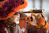 Europa, Italien, Karneval, Maske, Venedig, Venetien, Veneto, N64-961765, agefotostock