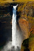 Iceland, Landscape, Landscapes, nature, Power, River, Rock, scenic, Scenic, Scenics, Stream, Tall, Waterfall, Wilderness, S19-922367, agefotostock