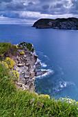 North Bay Cliffs. Barrika. Vizcaya. Basque Country. Spain.