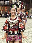 Miao women, China