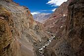 Catarata de Sipia  Cotahuasi Canyon area, deepest canyon of the world, 3,535 metros  Perú