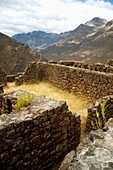 Archaeological site Pisac, Sacred Valley  Peru