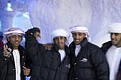 yong Arab Boys at Ski Dubai, Dubai, United Arab Emirates