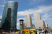Bahn Tower and Beisheim Center at Potsdamer Platz, Berlin, Germany