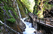 Wimbach gorge near Ramsau, Berchtesgadener Land, Upper Bavaria, Bavaria, Germany