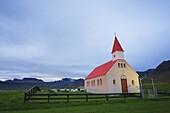 Sundown Church, Brimilsvellir, Olafsvik, Snaefellsness Peninsula, Iceland