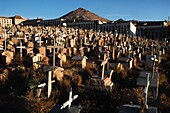 Bolivia, Potosi, The cemetery of the miners and the Cerro Rico, ´the Rich Mountain´