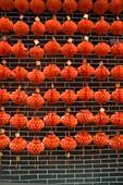April 2009, China´s Luoyang City, Henan Province,Chinese red lantern