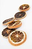 dried slices of lemon
