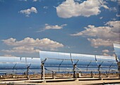 Daggett, California - A solar electric generating system operated by Sunray Energy Inc  in the Mojave Desert of southern California  Copyright Jim West