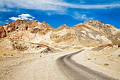 Death Valley, California - Artists Drive in Death Valley National Park  Copyright Jim West