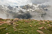 Rocky Mountain National Park, Colorado - The alpine tundra along Trail Ridge and a view of the Continental Divide  © Jim West