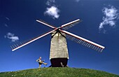 Sint-Janshuis Windmill  Brugge  Flanders  Belgium