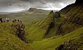 Cuillin Hills  Skye island  Scotland  United Kingdom