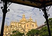 Cathedral  Segovia  Castilla y Leon  Spain