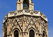 Miguelete Tower  At La Seo, Saint Mary Cathedral, Valencia  Spain