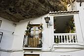 House of Setenil village  Malaga  Andalusia  Spain