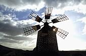 Windmill of Tefía  Fuerteventura  Canary Islands  Spain