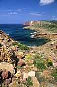 Es Codolar beach  Minorca  Balearic islands  Spain