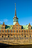 Borsen the stock exchange building at Christianborg in Copenhagen Denmark Europe