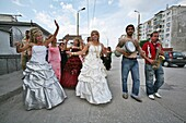 A gipsy wedding in bulgaria is a wild party with lots of live music and alcohol  A wedding lasts 3 days and always takes place in the weekend, the people and music is full of poassion