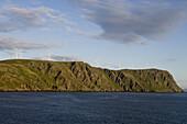 Wind Wheels on Hillside, near North Cape, Finnmark, Norway, Europe
