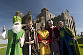 Characters and period performers at The Rock of Cashel, Tipperary, The Rock of Cashel, County, Tipperary, Ireland