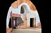 Tunisia Matmata  Troglodyte House  Hotel Sidi Idris  Original decoration of the movie Star Wars