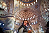 Sultan Ahmet, Blue Mosque  Istanbul  Turkey