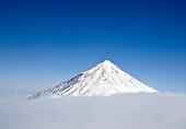 View of Koryaksky volcano in southern Kamchatka in Russian Far East 2008