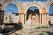 Byzantine church of St  Simeon Stylites 5th century, Qallat Semaan, Syria