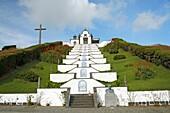 Our Lady of Peace chapel Ermida de Nossa Senhora da Paz, at Vila Franca do Campo  Sao Miguel island, Azores, Portugal