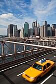 New York City´s Skyline and Brooklyn Bridge